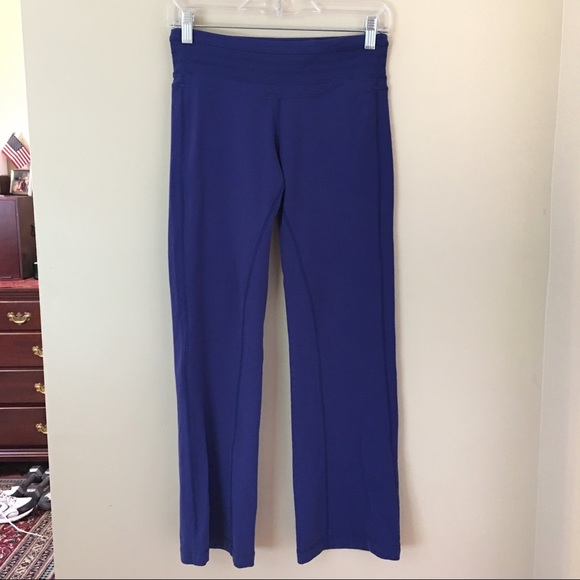 Prana Pants - PRANA Blue Short Inseam Leisure Yoga Pants Small